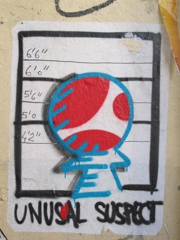 Unusal Suspect