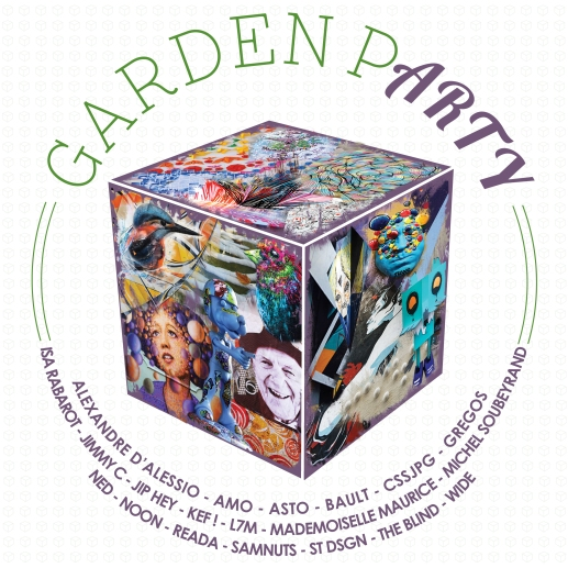 VISUEL GARDEN PARTY