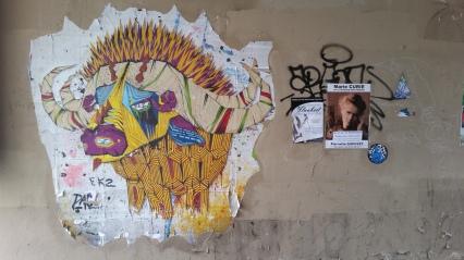 Street art Mouffetard
