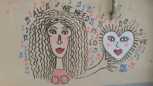 Street Art Moiuffetard