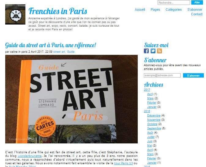 Frenchies in paris guide du street art a paris