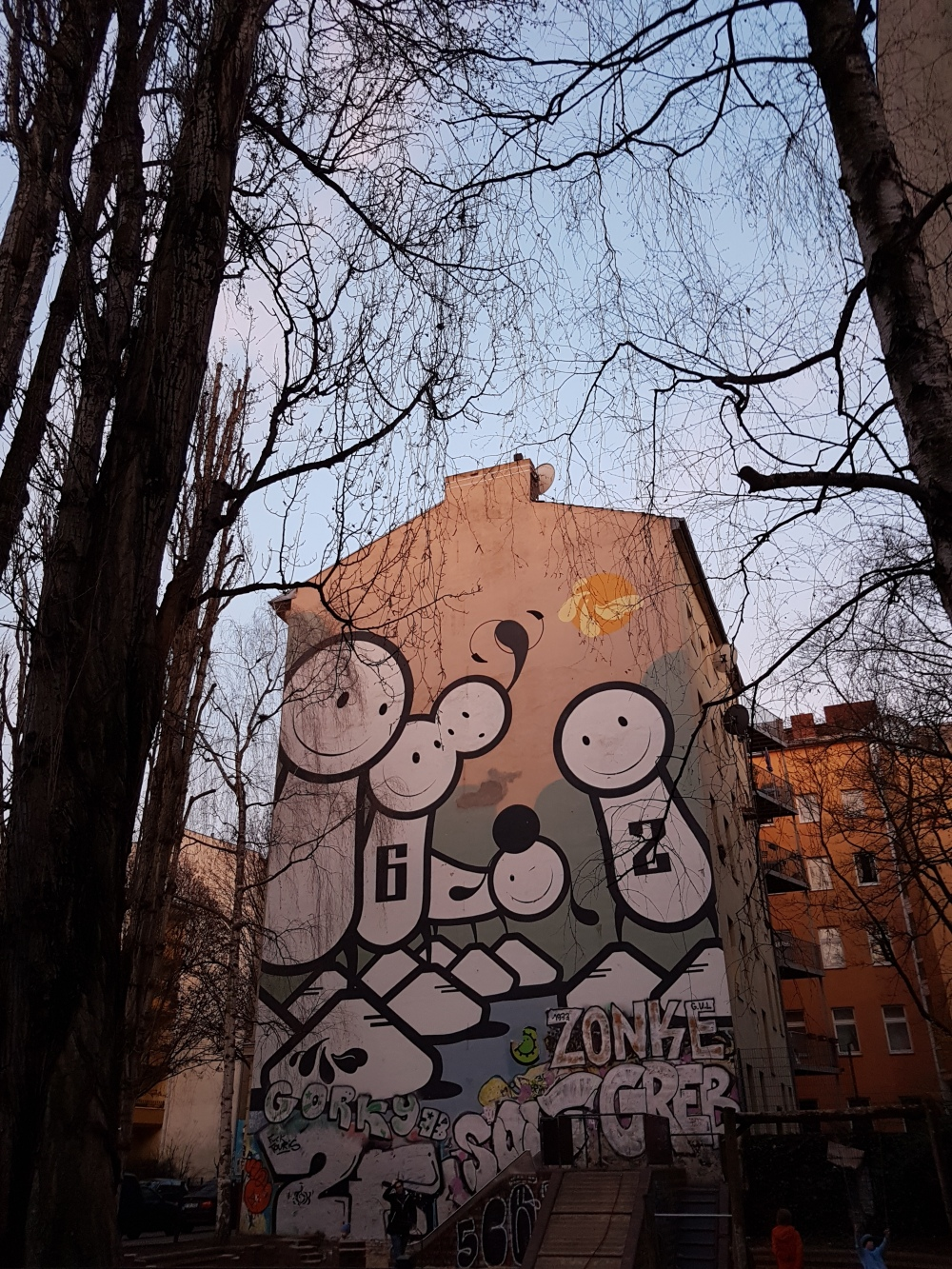 Street Art Berlin Stik