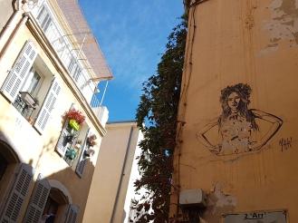 Street art Marseille Mahn Kloix