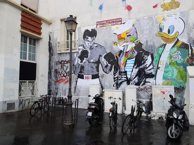 street art paris Jaeraymie Combo Raphael Federici