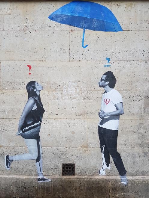 street art paris Le Mouvement