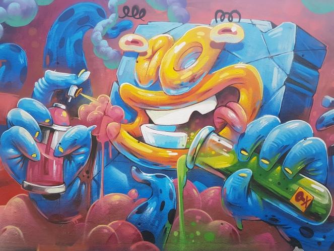Jardin des 3 cheminees_Barcelone_Arsek et Erase
