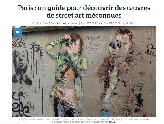 Le Parisien Guide du street art a Paris