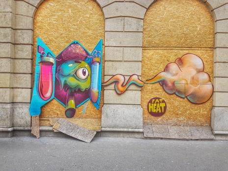 Street Art Budapest Fat Heat